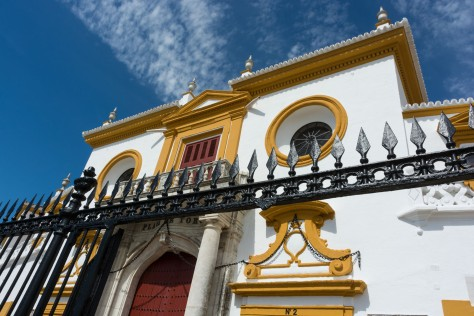 Plaza de Toros de la Real Maestranza de Caballería de Sevilla. Photo by Eduardo Libby