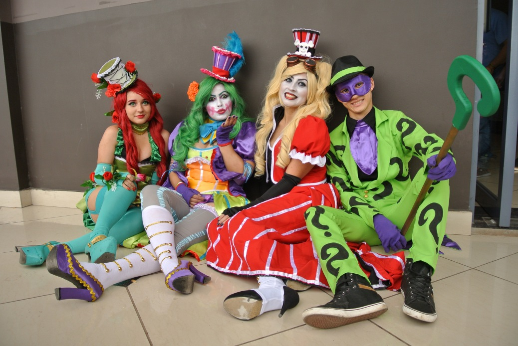 Cosplayers in Kamen 2016 Costa Rica. Photo by Eduardo Libby