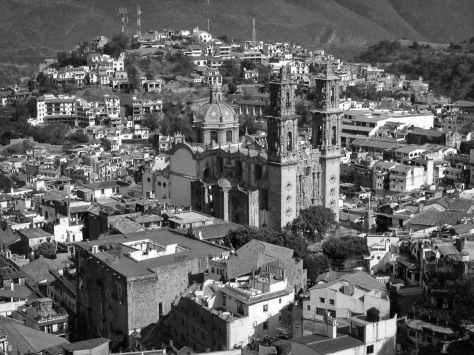 View of Santa Prisca Church and Taxco de Alarcón. Photo by Eduardo Libby