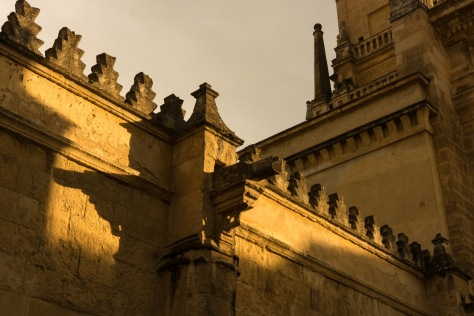Exterior detail of the Mosque-Cathedral of Córdoba, Spain. Photo by Eduardo Libby