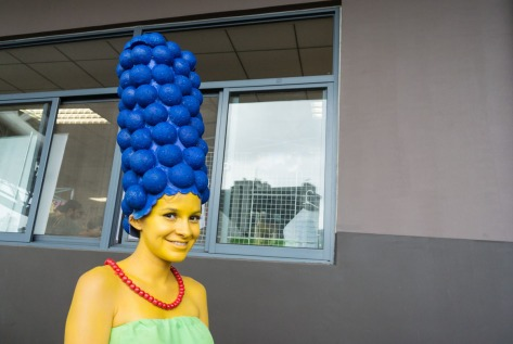 Photo of person wearing costumes. Image by Eduardo Libby