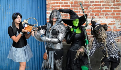 Image of Cosplayers at Cosparty 2017, Costa Rica. Photo by Eduardo Libby