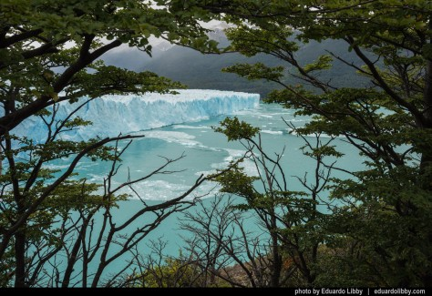 Image of Perito Moreno Glacier. Photo by Eduardo Libby