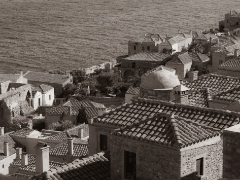 View of Monemvasia, Greece. Photo by Eduardo Libby