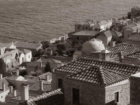 View of Monemvasia, Greece. Photo by Eduardo Libby