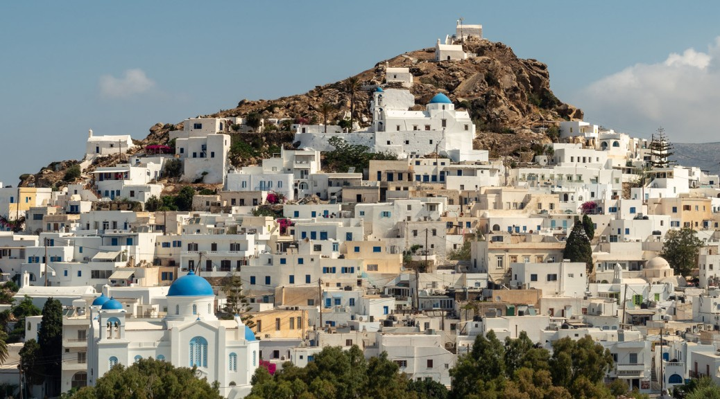 View of Chora, Ios Island. Photo by Eduardo Libby