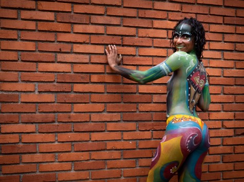 Body paint models