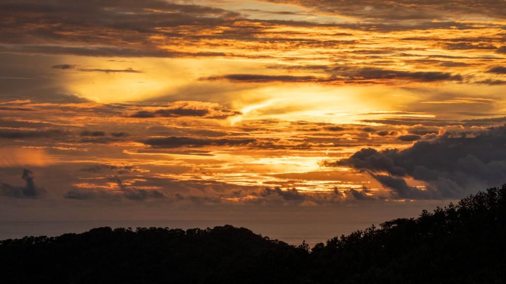 Sunset in Guanacaste's coast, Costa Rica. Photo by Eduardo Libby